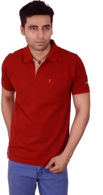 Studio Nexx Solid Men's Polo Red T-Shirt