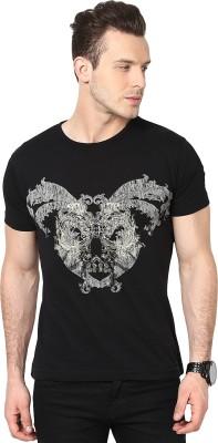 Cherymoya Printed Men's Round Neck T-Shirt