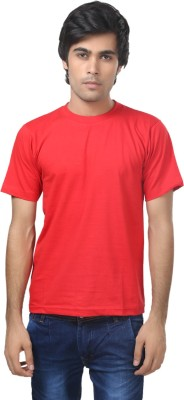 Louis Mode Solid Men's Round Neck T-Shirt