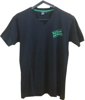 Rools Solid Men's V-neck T-Shirt