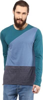 Atorse Solid Men's Round Neck Multicolor T-Shirt