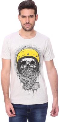 Maxzone Printed Men's Round Neck T-Shirt