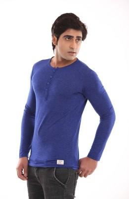 Designerkarts Solid Men's V-neck T-Shirt