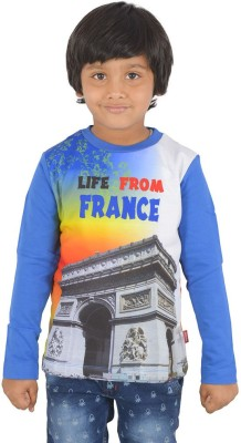 SPARK Printed Boy's Round Neck T-Shirt