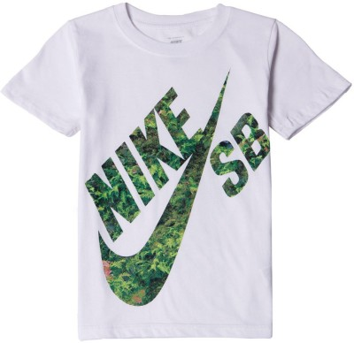 Nike SB Graphic Print Boy,s Round Neck T-Shirt