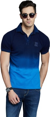 Route 66 Solid Men's Polo Neck T-Shirt