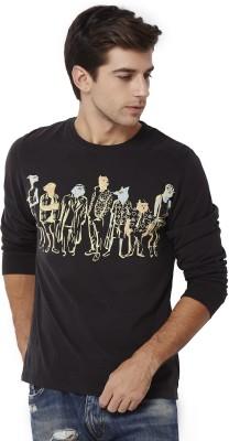 Chumbak Printed Men's Round Neck T-Shirt