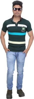 AFLASH Printed Men's Polo Multicolor T-Shirt