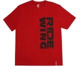 Honda Self Design Men's Round Neck Red T...