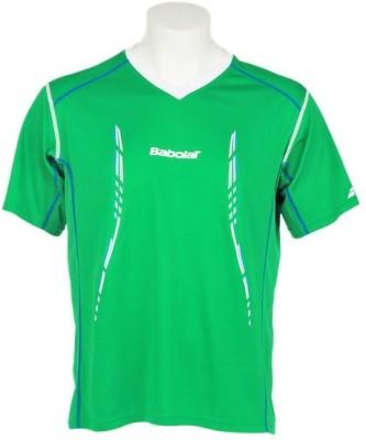 Babolat Solid Men's V-neck T-Shirt