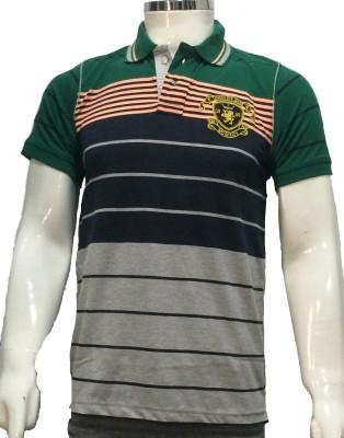 London Eye Striped Men,s Polo T-Shirt