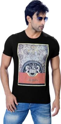 Astron Graphic Print Men's Round Neck T-Shirt