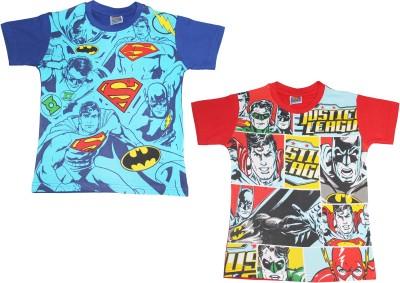 ETeenz Printed Boy's Round Neck Reversible T-Shirt