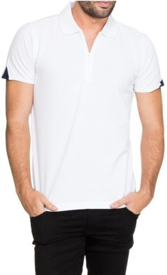 Moodlay Solid Men's Polo Neck T-Shirt