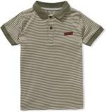 Ben Sherman Striped Boy's Polo T-Shirt