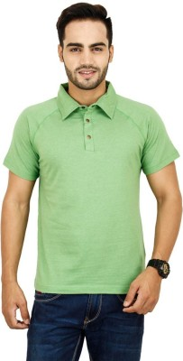 Opiumstreet Solid Men's Polo Neck T-Shirt