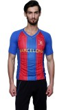 Sportigo Striped Men's V-neck Blue, Red,...