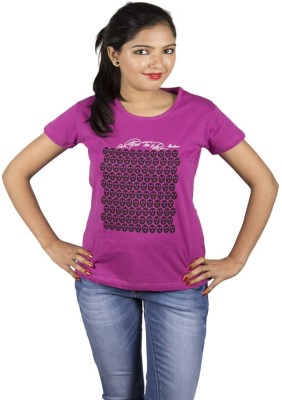 Aloha Printed Women's Round Neck T-Shirt