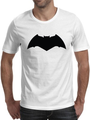 Fanideaz Printed Men's Round Neck White T-Shirt