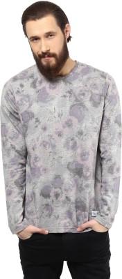 Atorse Printed Men's Round Neck T-Shirt