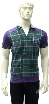 Riverstone Checkered Men,s Polo T-Shirt