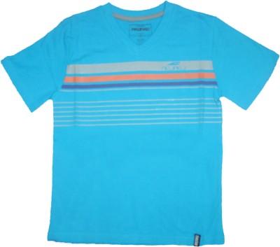 Mankoose Printed Boy's Flap Collar Neck T-Shirt