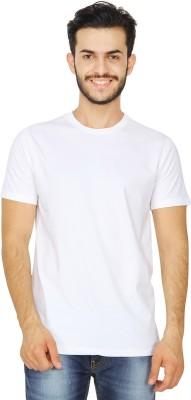 United Squares Solid Men's Round Neck T-Shirt