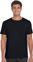 Nuva Formal Shirts (Men's) - NUVA Solid Men's Round Neck T-Shirt
