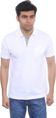 Studio Nexx Solid Men's Polo White T-Shirt