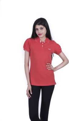 Juelle Solid Women's Polo T-Shirt