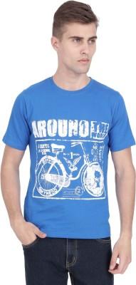 Trippin Traveller Printed Men's Round Neck T-Shirt