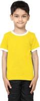 99tshirts Solid Boys Round Neck T-Shirt