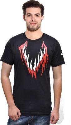 Rangifer Printed Men's Round Neck T-Shirt