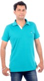 Wells Smith Solid Men's Polo Neck Green ...