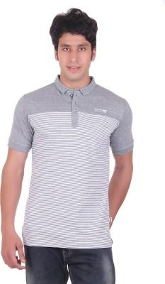 Montreal Striped Men,s Polo T-Shirt