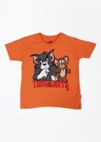 Tom & Jerry Printed Boy's Round Neck T Shirt