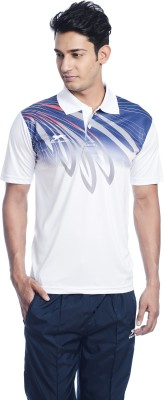 Shiv Naresh Printed Men's Polo Neck Multicolor T-Shirt