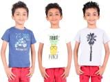 ATIVO Boys Graphic Print (Multicolor)