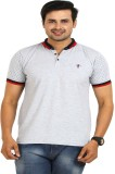 TT Solid Men's Round Neck Grey T-Shirt