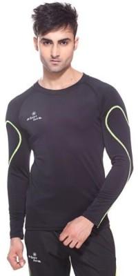 Sport Sun Solid Men's Round Neck T-Shirt