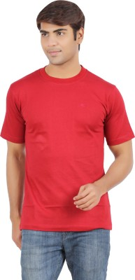 Chennis Solid Men's Round Neck T-Shirt