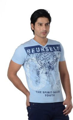 Integriti Printed Men's V-neck T-Shirt