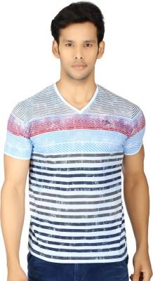 Killer Striped Men's V-neck T-Shirt