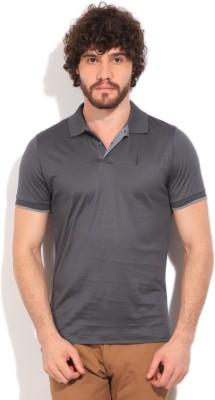 Arrow Newyork Solid Men's Polo Grey T-Shirt