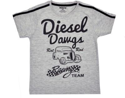 HUNCH Graphic Print Boy,s Round Neck T-Shirt