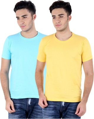 Perfect 10 Solid Men's Round Neck T-Shirt