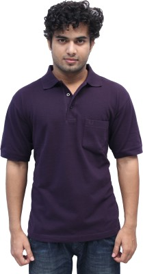 Romano Solid Men's Polo Brown T-Shirt