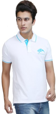 CATAMONT Solid Men's Polo White T-Shirt