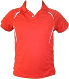 T10 Sports Boys Solid (Red)