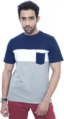 Fabnavitas Striped Men's Round Neck T-Shirt